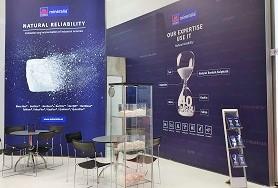mineralia's stand @ European Coatings Show 2019